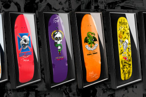 Signed and Framed Bones Brigade Decks - Third Colorway