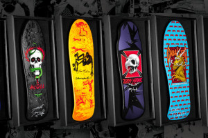 Signed and Framed Bones Brigade Decks - Fifth Colorway