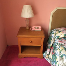 Pink Motel rooms still available. Funnymoon suite.
