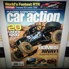 If ya get a chance peep the latest issue (April 2016) of @rccaraction at your local magazine store, or online, I have a cool interview in that issue. Thanks to Carl Hyndman (editor) for the story and coverage, much appreciated
