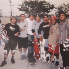 At the SM skatepark with the boys