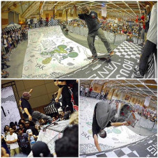 """There was a rad lil mini ramp supplied by the """"House Of Vans"""" @vansmyofficial at the @artofspeedmy Kustom Kulture show last weekend in Malaysia. Great session with some of the best locals in town. Here's a few tricks I was able to throw down on Saturday for the crowd"""