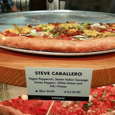 Ok, you have to admit, you know you've hit the big time when someone names a pizza