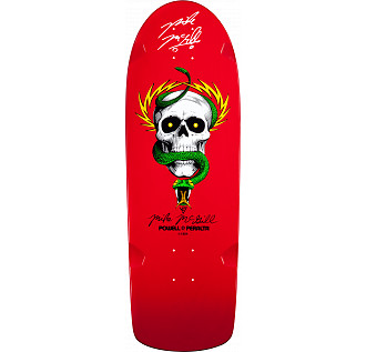 Bones Brigade Mike McGill Autographed Deck Red