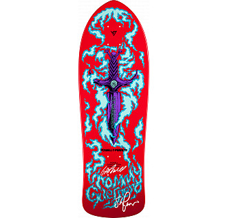 Bones Brigade Guerrero Red Deck Autographed by GAP/Stacy
