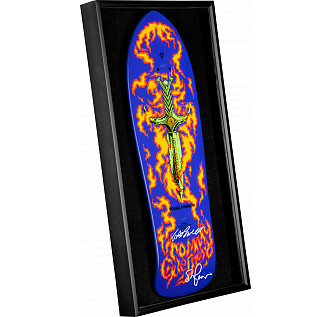 Bones Brigade Shadowbox Guerreo BLEM Deck Signed by GAP/Stacy
